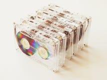 Casetes audios para el registrador Fotografía de archivo