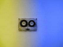 Casetes audios para el registrador Foto de archivo
