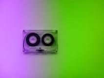 Casetes audios para el registrador Foto de archivo libre de regalías