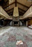 Casetta della montagna - località di soggiorno abbandonata di Nevele - montagne di Catskill, New York Fotografie Stock