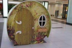 Casetta per giocare in un centro commerciale Fotografia Stock
