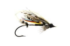 Casetta Salmon Fly di marzo Fotografia Stock Libera da Diritti