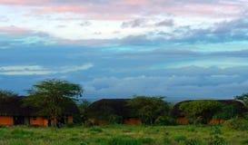 Casetta in Samburu Fotografie Stock Libere da Diritti