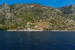 Casetta sull'isola Immagine Stock