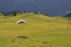 Casette 'a Alpe di Cisles Fotografia Stock