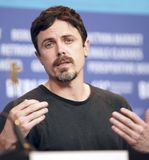Casey Affleck attends the `Light of My Life stock photo
