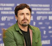 Casey Affleck attends the `Light of My Life royalty free stock images