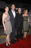 Casey Affleck, Ben Affleck, Amy Ryan, Michelle Monaghan Royalty Free Stock Photos
