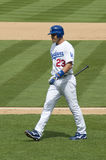 Casey Blake. Los Angeles Dodgers' infielder Casey Blake on a field Royalty Free Stock Images