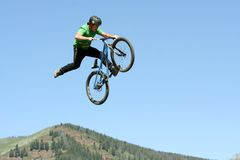 Casey Groves - Slopestyle Competition Royalty Free Stock Photography