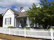 Casey Jones Haus in Jackson Tennessee lizenzfreie stockbilder