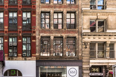Casey Neistat's YouTube Pracowniana powierzchowność na Broadway, Miasto Nowy Jork, Sep 2016 Zdjęcia Stock