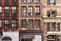 Casey Neistat's YouTube Studio Exterior on Broadway, New York City, Sep 2016 Stock Photos