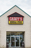 Casey's General Store Exterior and Sign Royalty Free Stock Photos