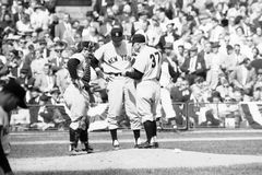 Casey Stengel and Yogi Berral Royalty Free Stock Images