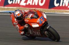 Casey Stoner-Ducati royalty free stock photos