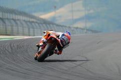 Casey Stoner HONDA MotoGP 2012 images libres de droits
