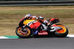 Casey Stoner HONDA Repsol MotoGP 2012 Royalty Free Stock Photo