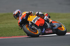 Casey stoner, moto gp 2012 Stock Photo