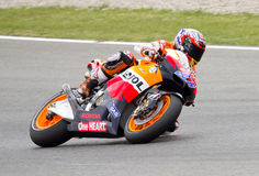 Casey Stoner racing Stock Image