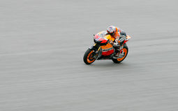 Casey Stoner of Repsol Honda Team at Sepang Royalty Free Stock Photo