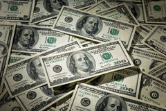 Cash $100 Bills Royalty Free Stock Images