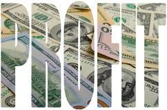 cash стоковая фотография