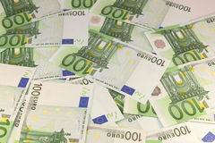 Cash. Bank, bill, business, buy, card, change, coin, credit, currency, dollars, euro, europe Stock Image
