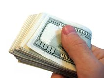 Cash. Money, us dollars royalty free stock photo