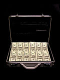 Cash. A briefcase full of cash Royalty Free Stock Photo