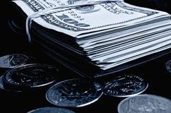 cash стоковое изображение rf