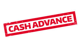 Cash Advance rubber stamp Royalty Free Stock Photos