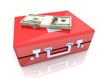 Cash aid emergency. 3D rendered Illustration. Credit emergency Stock Photo
