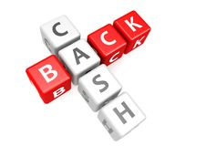 Cash back in cube Royalty Free Stock Photography