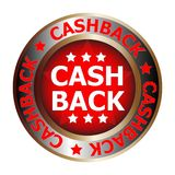Cash back icon Royalty Free Stock Photos