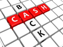 Cash back Royalty Free Stock Photo