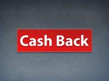 Cash Back Red Banner Abstract Background. Cash Back Isolated on Red Banner Abstract Background illustration Design vector illustration