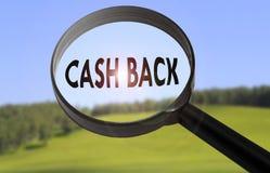 Cash back Stock Images