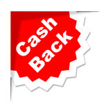 Cash Back Shows Sale Promotion And Offer Royalty Free Stock Photo