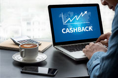 CASH BACK Royalty Free Stock Images