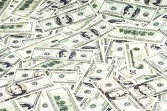 Cash background Royalty Free Stock Photos