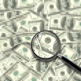 Cash Background Royalty Free Stock Photography
