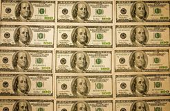 Cash background-wall paper-April-7-08_4092 Stock Photos