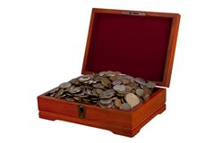 Cash-box Royalty Free Stock Images
