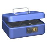 Cash Box Open Royalty Free Stock Image