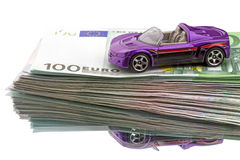 Cash for car Royalty Free Stock Photography