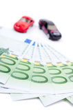 Cash for car Stock Photo