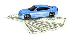 Cash for car Royalty Free Stock Photos