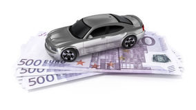 Cash for car Stock Images