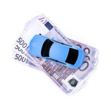 Cash for car Royalty Free Stock Photo